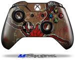 Decal Skin Wrap fits Microsoft XBOX One Wireless Controller Weaving Spiders