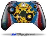 Decal Skin Wrap fits Microsoft XBOX One Wireless Controller Tie Dye Circles and Squares 101
