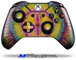 Tie Dye Peace Sign 109 - Decal Style Skin fits Microsoft XBOX One Wireless Controller