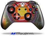 Decal Skin Wrap fits Microsoft XBOX One Wireless Controller Tie Dye Circles 100