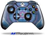 Decal Skin Wrap fits Microsoft XBOX One Wireless Controller Tie Dye Circles and Squares 100