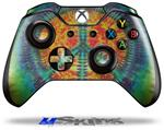 Tie Dye Peace Sign 111 - Decal Style Skin fits Microsoft XBOX One Wireless Controller