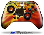 Decal Skin Wrap fits Microsoft XBOX One Wireless Controller Tie Dye Music Note 100