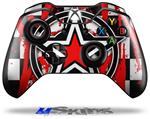 Decal Skin Wrap fits Microsoft XBOX One Wireless Controller Star Checker Splatter