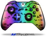 Decal Skin Wrap fits Microsoft XBOX One Wireless Controller Rainbow Skull Collection