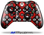 Decal Skin Wrap fits Microsoft XBOX One Wireless Controller Goth Punk Skulls