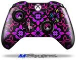 Decal Skin Wrap fits Microsoft XBOX One Wireless Controller Pink Floral