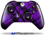 Decal Skin Wrap fits Microsoft XBOX One Wireless Controller Purple Plaid
