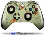 Birds Butterflies and Flowers - Decal Style Skin fits Microsoft XBOX One Wireless Controller