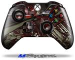 Domain Wall - Decal Style Skin fits Microsoft XBOX One Wireless Controller