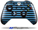 Decal Skin Wrap fits Microsoft XBOX One Wireless Controller Stripes Blue