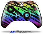 Decal Skin Wrap fits Microsoft XBOX One Wireless Controller Tiger Rainbow