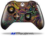 Fire And Water - Decal Style Skin fits Microsoft XBOX One Wireless Controller