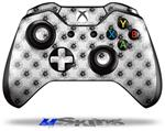 Decal Skin Wrap fits Microsoft XBOX One Wireless Controller Kearas Daisies Black on White