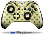 Decal Skin Wrap fits Microsoft XBOX One Wireless Controller Kearas Daisies Yellow
