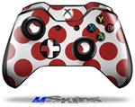Kearas Polka Dots Brick - Decal Style Skin fits Microsoft XBOX One Wireless Controller