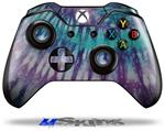 Tie Dye Purple Stripes - Decal Style Skin fits Microsoft XBOX One Wireless Controller