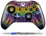 Tie Dye Purple Gears - Decal Style Skin fits Microsoft XBOX One Wireless Controller