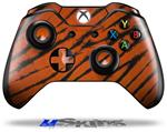 Decal Skin Wrap fits Microsoft XBOX One Wireless Controller Tie Dye Bengal Belly Stripes