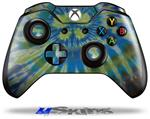 Decal Skin Wrap fits Microsoft XBOX One Wireless Controller Tie Dye Peace Sign Swirl