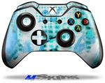 Decal Skin Wrap fits Microsoft XBOX One Wireless Controller Electro Graffiti Blue