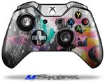 Decal Skin Wrap fits Microsoft XBOX One Wireless Controller Graffiti Grunge