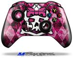 Decal Skin Wrap fits Microsoft XBOX One Wireless Controller Pink Bow Princess