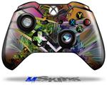 Decal Skin Wrap fits Microsoft XBOX One Wireless Controller Atomic Love