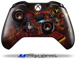 Decal Skin Wrap fits Microsoft XBOX One Wireless Controller Reactor