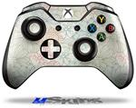 Flowers Pattern 02 - Decal Style Skin fits Microsoft XBOX One Wireless Controller