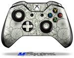 Decal Skin Wrap fits Microsoft XBOX One Wireless Controller Flowers Pattern 05