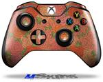 Decal Skin Wrap fits Microsoft XBOX One Wireless Controller Flowers Pattern Roses 06