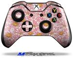 Flowers Pattern 12 - Decal Style Skin fits Microsoft XBOX One Wireless Controller