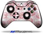 Decal Skin Wrap fits Microsoft XBOX One Wireless Controller Flowers Pattern Roses 13