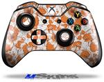 Decal Skin Wrap fits Microsoft XBOX One Wireless Controller Flowers Pattern 14