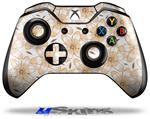 Decal Skin Wrap fits Microsoft XBOX One Wireless Controller Flowers Pattern 15