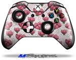 Decal Skin Wrap fits Microsoft XBOX One Wireless Controller Flowers Pattern 16