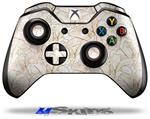 Decal Skin Wrap fits Microsoft XBOX One Wireless Controller Flowers Pattern 17