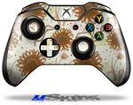 Decal Skin Wrap fits Microsoft XBOX One Wireless Controller Flowers Pattern 19