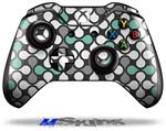 Locknodes 05 Seafoam Green - Decal Style Skin fits Microsoft XBOX One Wireless Controller
