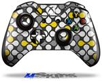 Locknodes 05 Yellow - Decal Style Skin fits Microsoft XBOX One Wireless Controller