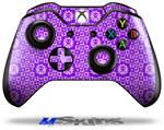 Gothic Punk Pattern Purple - Decal Style Skin fits Microsoft XBOX One Wireless Controller