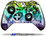 Scene Kid Sketches Rainbow - Decal Style Skin fits Microsoft XBOX One Wireless Controller