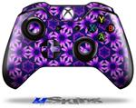 Daisies Purple - Decal Style Skin fits Microsoft XBOX One Wireless Controller
