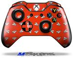 Decal Skin Wrap fits Microsoft XBOX One Wireless Controller Paper Planes Red