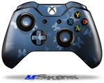 Decal Skin Wrap fits Microsoft XBOX One Wireless Controller Bokeh Butterflies Blue