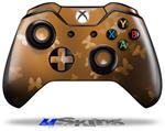 Bokeh Butterflies Orange - Decal Style Skin fits Microsoft XBOX One Wireless Controller