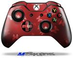 Decal Skin Wrap fits Microsoft XBOX One Wireless Controller Bokeh Butterflies Red