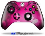 Decal Skin Wrap fits Microsoft XBOX One Wireless Controller Bokeh Hex Hot Pink