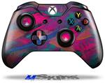 Painting Brush Stroke - Decal Style Skin fits Microsoft XBOX One Wireless Controller